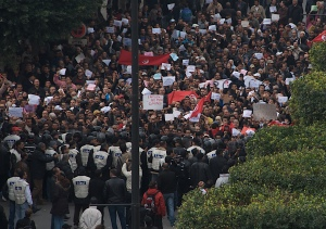 Tunisian Revolution (via Flickr Creative Commons)