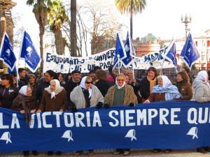 Thursdays with Las Abuelas de Plaza de Mayo Credit: Sara Gold