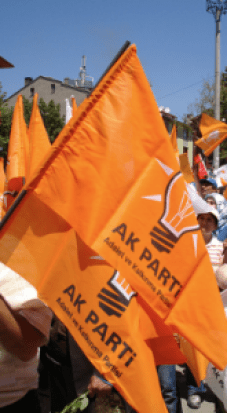 AK Party rally in the Fall of 2015.