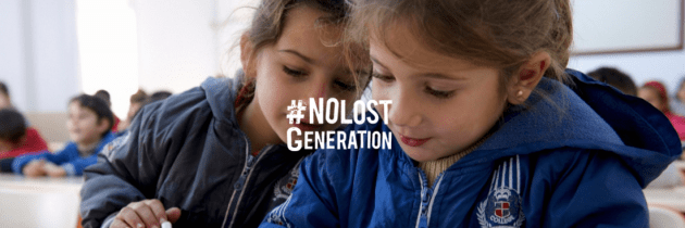 'No Lost Generation'