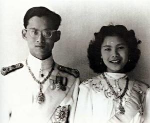 King Bhumibol Aduladej and Queen Sirikit (Creative Commons Licence)