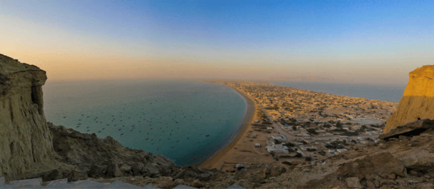 Once only a small fishing village, Gwadar port is now the crown jewel in the Chinese-Pakistan Economic Corridor (CPEC). Photo Credit: Syed M. Rafiq (Flickr Creative Commons).