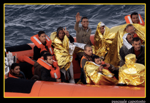 The refugee crisis has placed more strain on Italy than neighbouring nations.