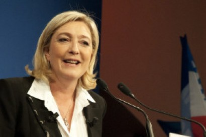 Marine Le Pen, Leader of the extreme-right party Front National. Source: http://bit.ly/2fG0wmt