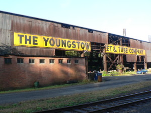 The Youngstown Steel and Tube Company was once a major employer in Youngstown, Ohio.