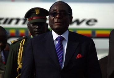 Robert Mugabe, the President of Zimbabwe.