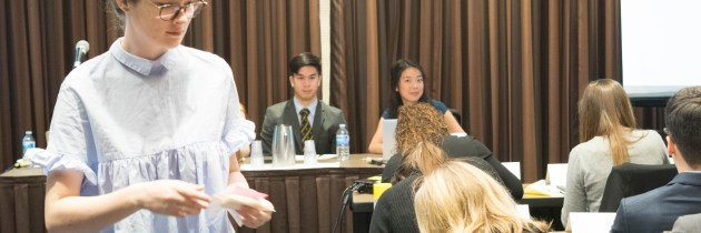 McMUN 2017 Women's Committee: Moving Towards the Economic Empowerment of Women