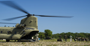 U.S. Armed Forces help the Honduras military in an operation aimed to halt illegal trafficking
