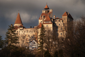 """Bran Castle, a national monument and landmark in Romania known as """"Dracula's Castle"""". https://flic.kr/p/8ZD1Hi"""