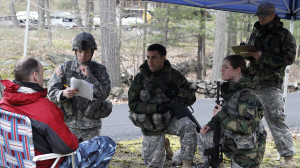 Cadets at West Point simulate negotiation tactics during a class. https://flic.kr/p/9CiMEf