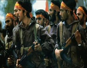 The Iranian Revolutionary Guard, known in Farsi as Pastaran Enkelab, are elite Iranian shock-troopers and the praetorian guard of the Ayatollah http://bit.ly/2nU9hx2