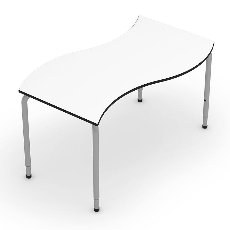 mesa patas regulables mobiliario escolar