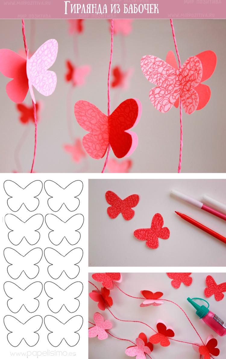 Butterfly Garland.