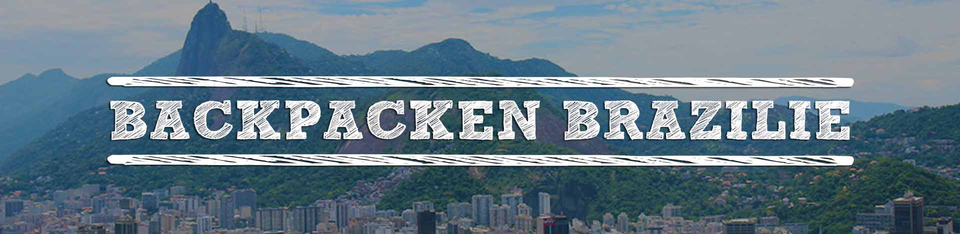 Backpacken Brazilie-header