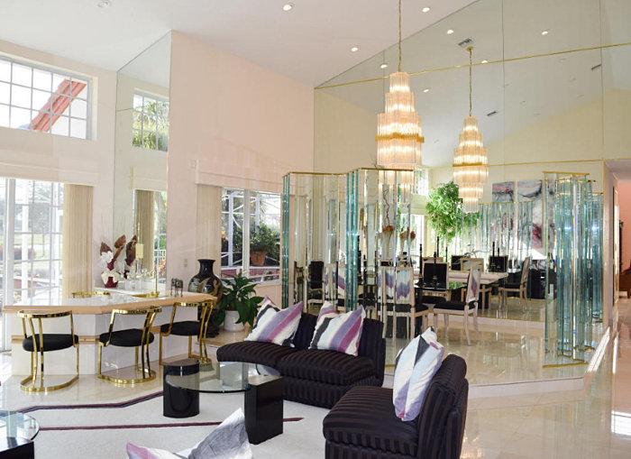 1980s Interior Design Spotlight Florida Real Estate Mirror80