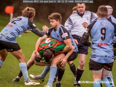 Millbrook RFC 1st and 2nd IV, 05/12/2015, , , Hampshire, England