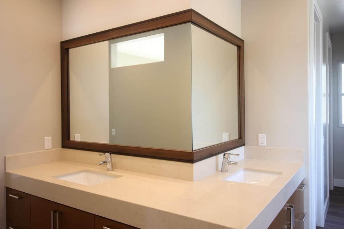 Framing A Bathroom Mirror  Tips To Improve Your Bathroom