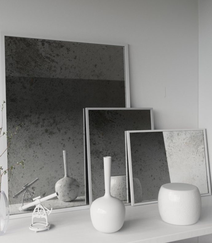 Find the Perfect Square Antique Mirror