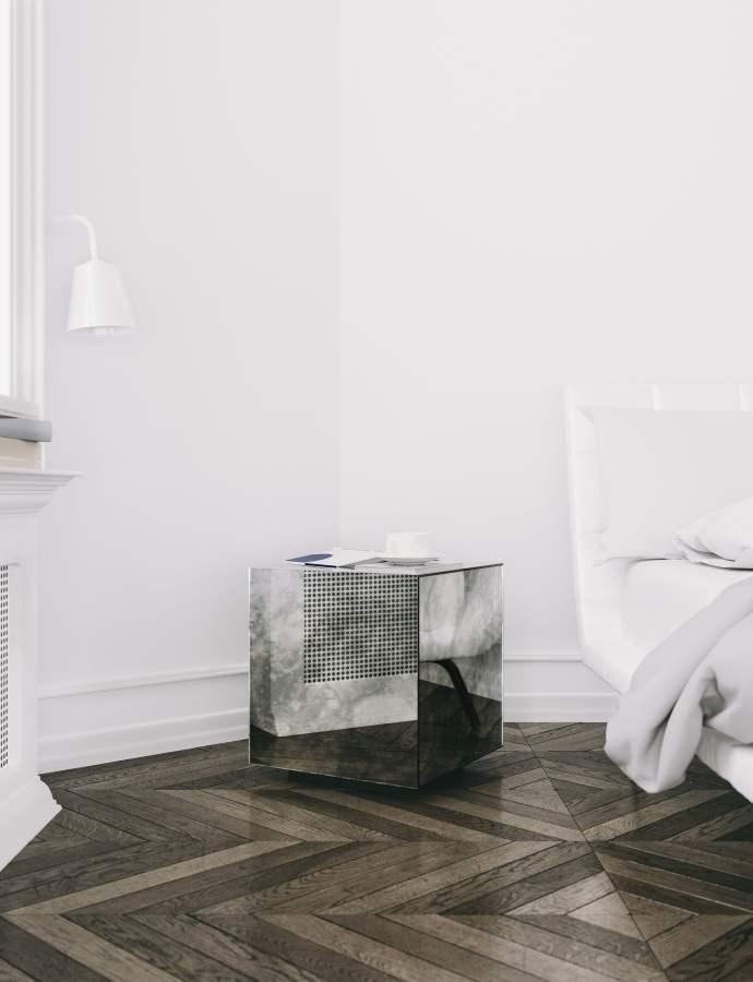 Antiqued Mirrored Furniture