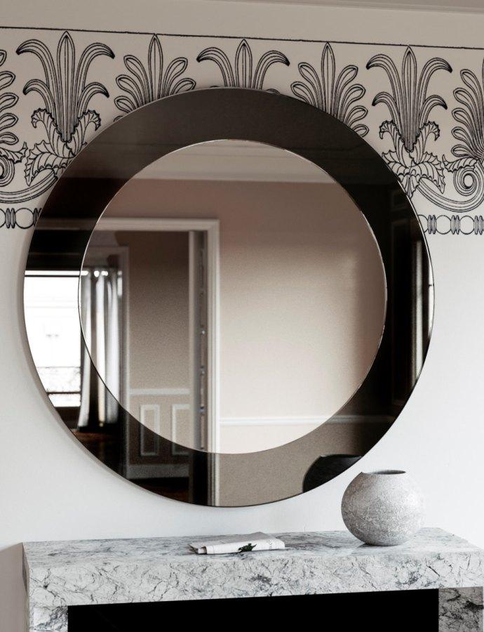 Black Deco Mirror