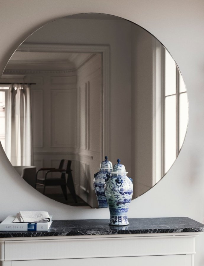 Finding The Perfect Oversized Mirrors
