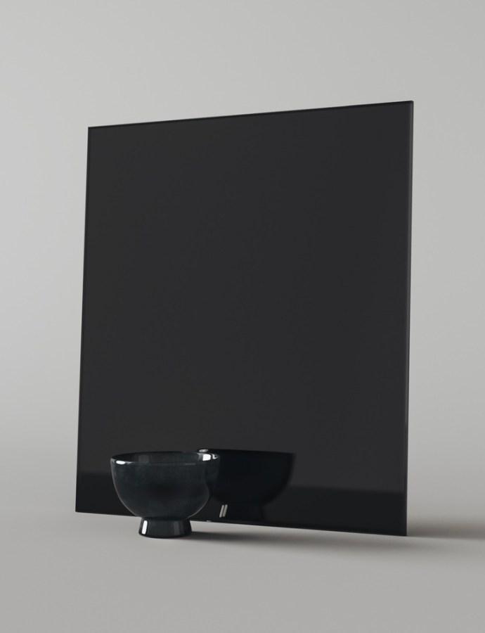 Finding Black Glass Mirror