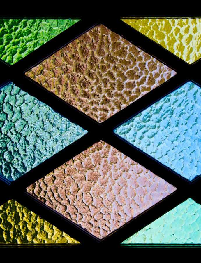 Finding Colored Glass Sheets
