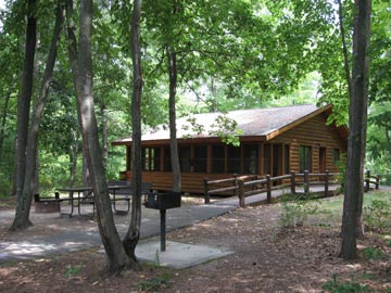 Cabin in the Woods - Mirror Lake State Park