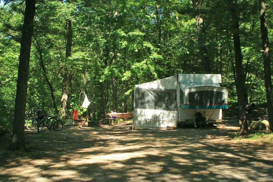 Sandstone Campground Gallery  Mirror Lake State Park