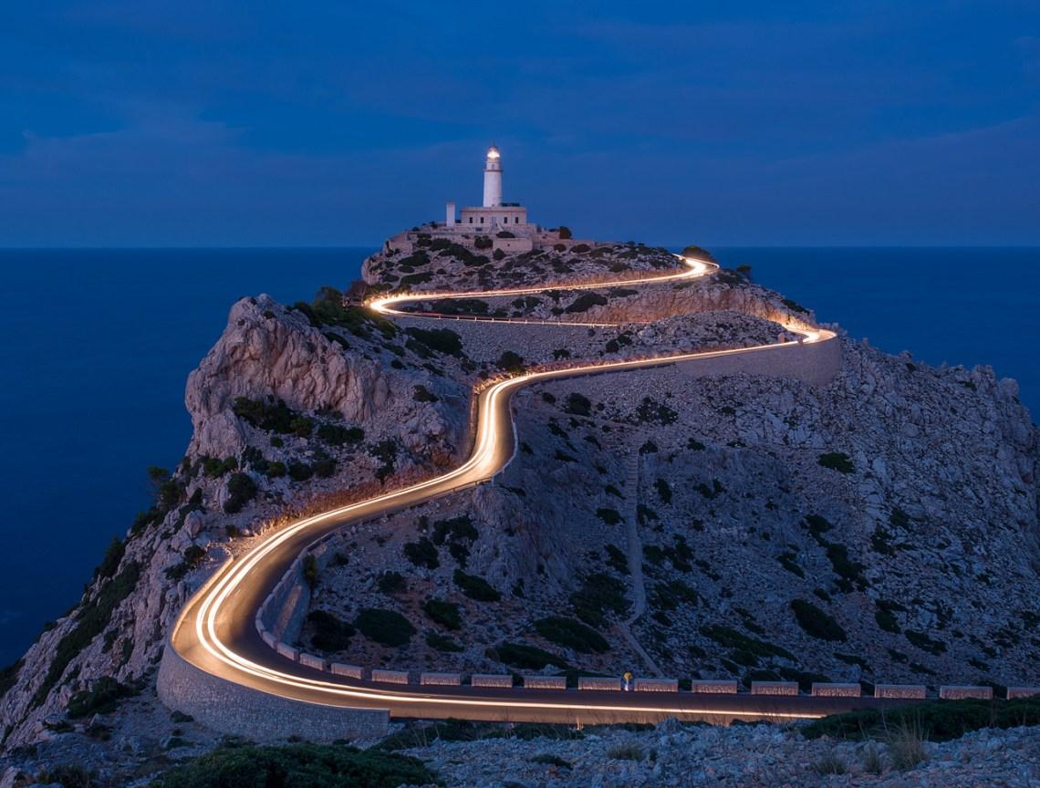 Der Leuchtturm am Kap Formentor auf Mallorca