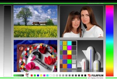Saal-Digital stellt gratis einen Testdruck und passende Profile zur Verfügung