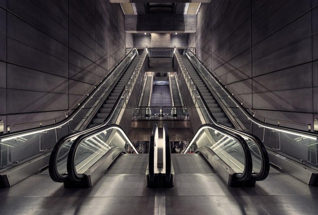 Norreport Metro Station in Kopenhagen