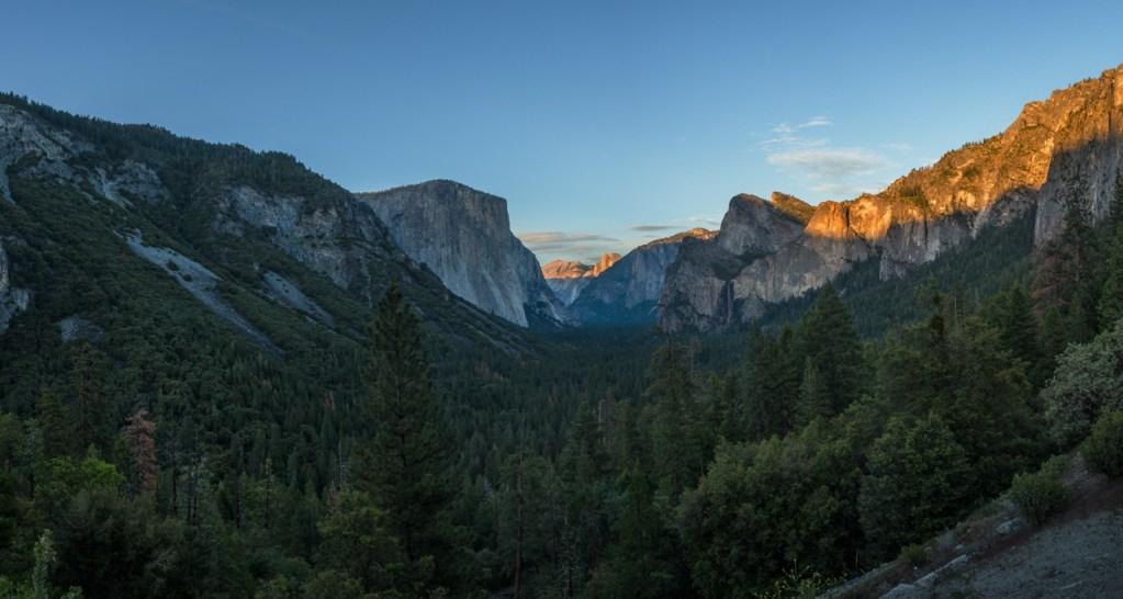 Tunnel View im Yosemite Nationalpark in den USA