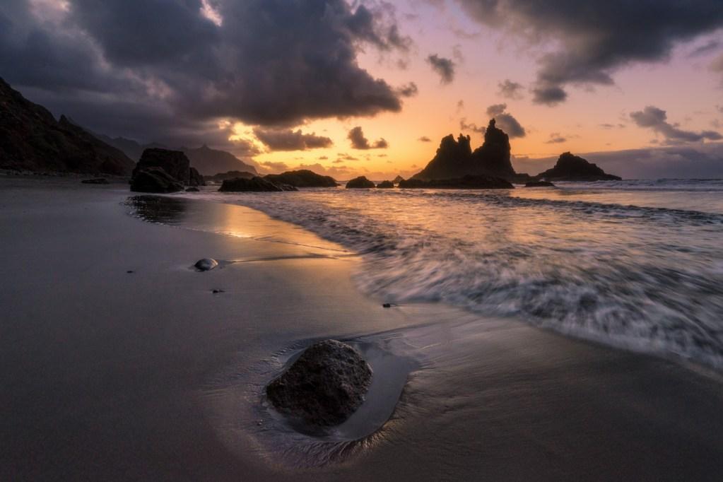 Benijo Beach Sonnenuntergang Teneriffa