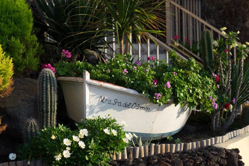 Boot in El Pris auf Teneriffa