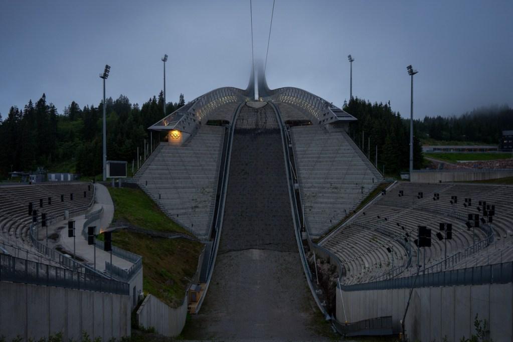 Der Holmenkollen in Oslo