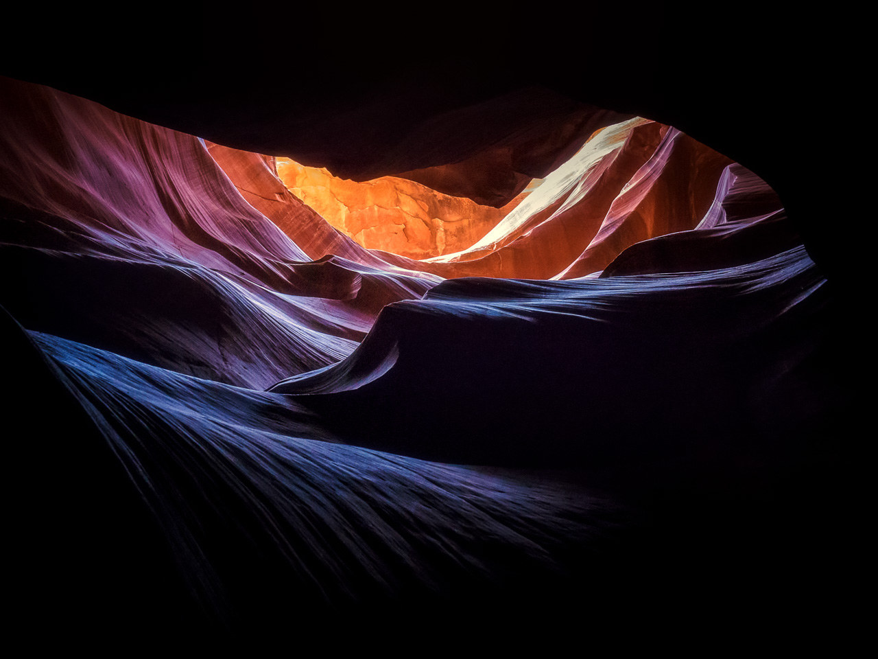 Der Antelope Canyon in Page, Arizona