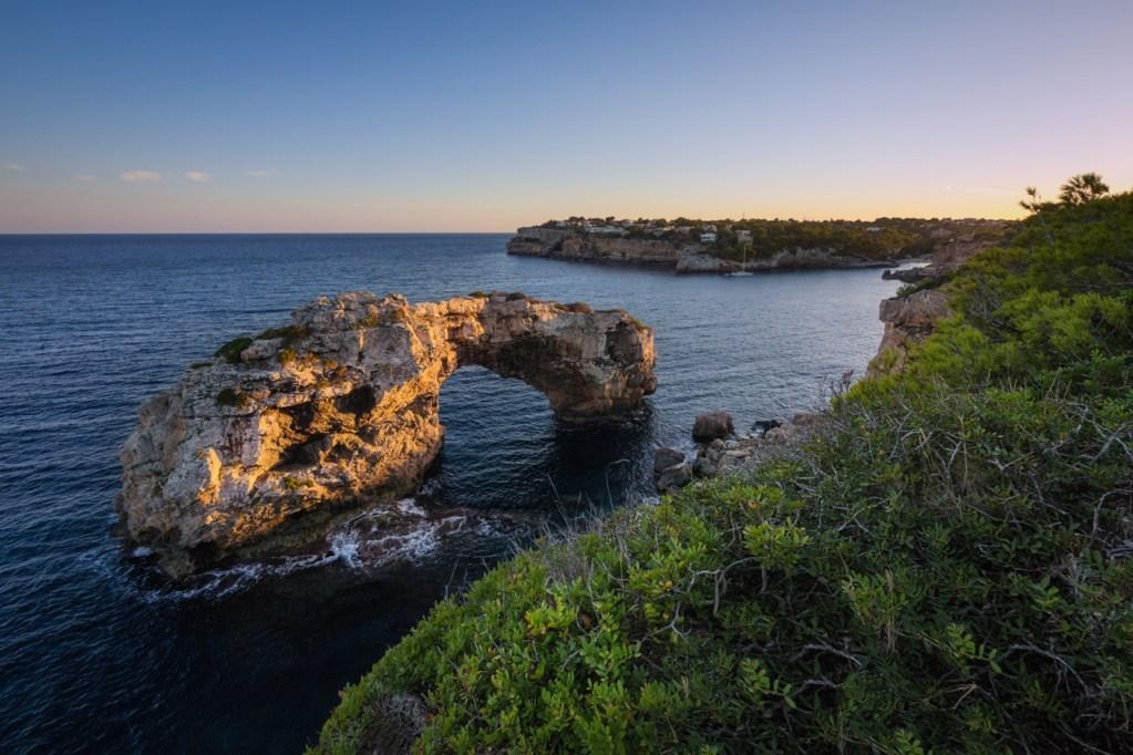 Das Felstor Es Pontas auf Mallorca