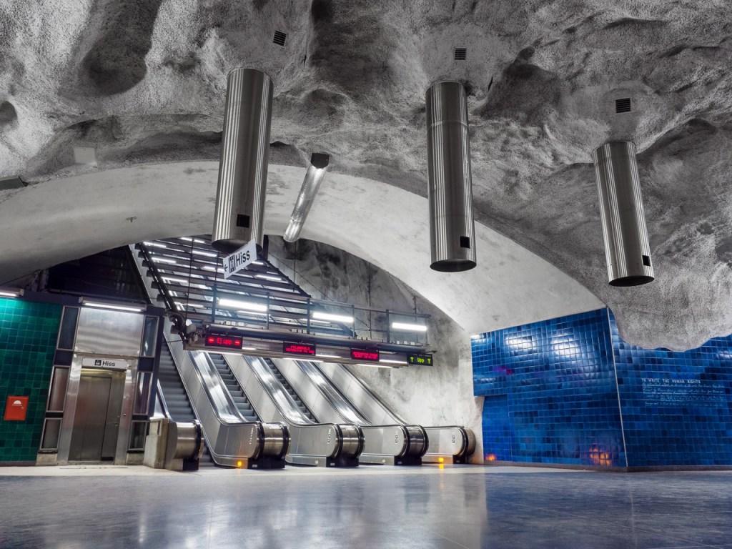 Metro Station in Stockholm