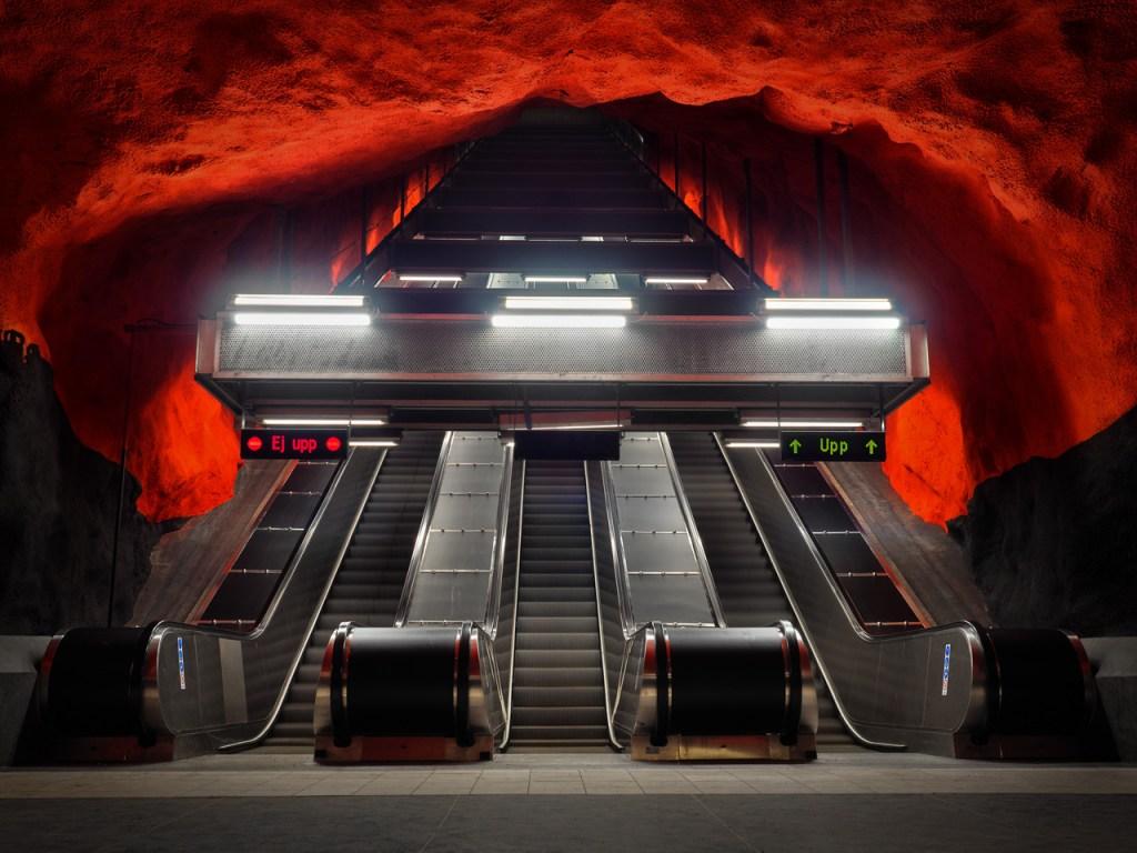 Metro-Station in Stockholm