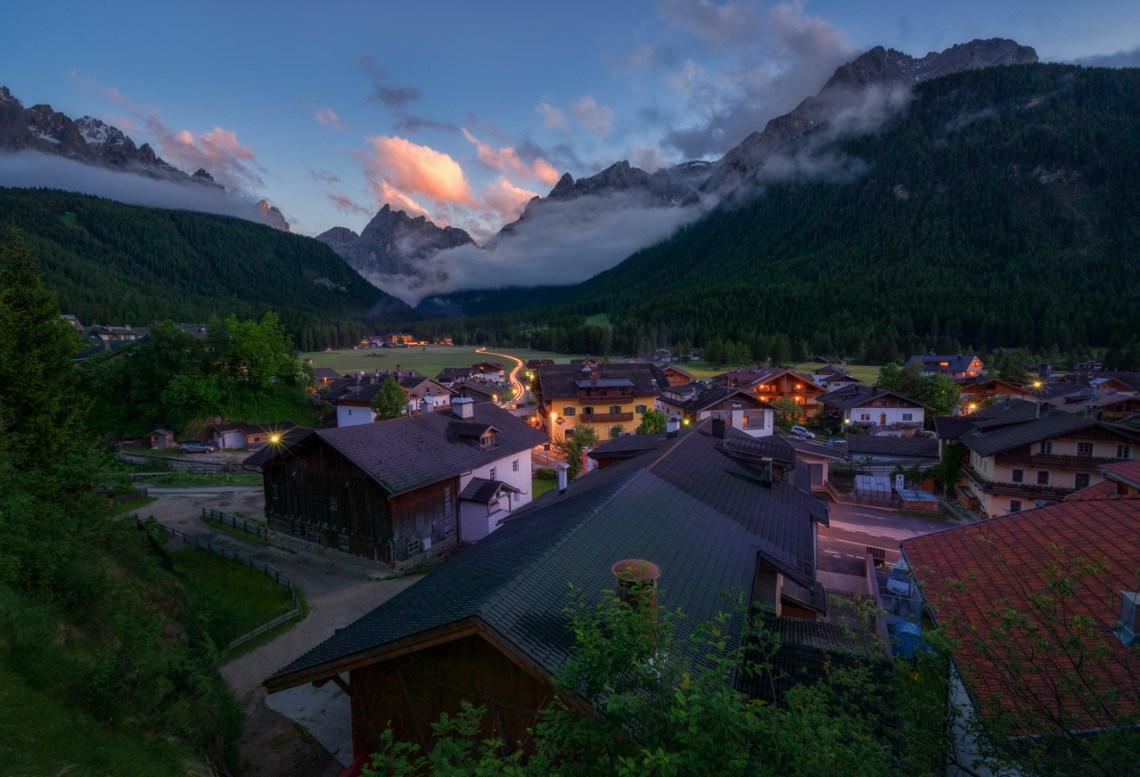 Sexten in den Dolomiten