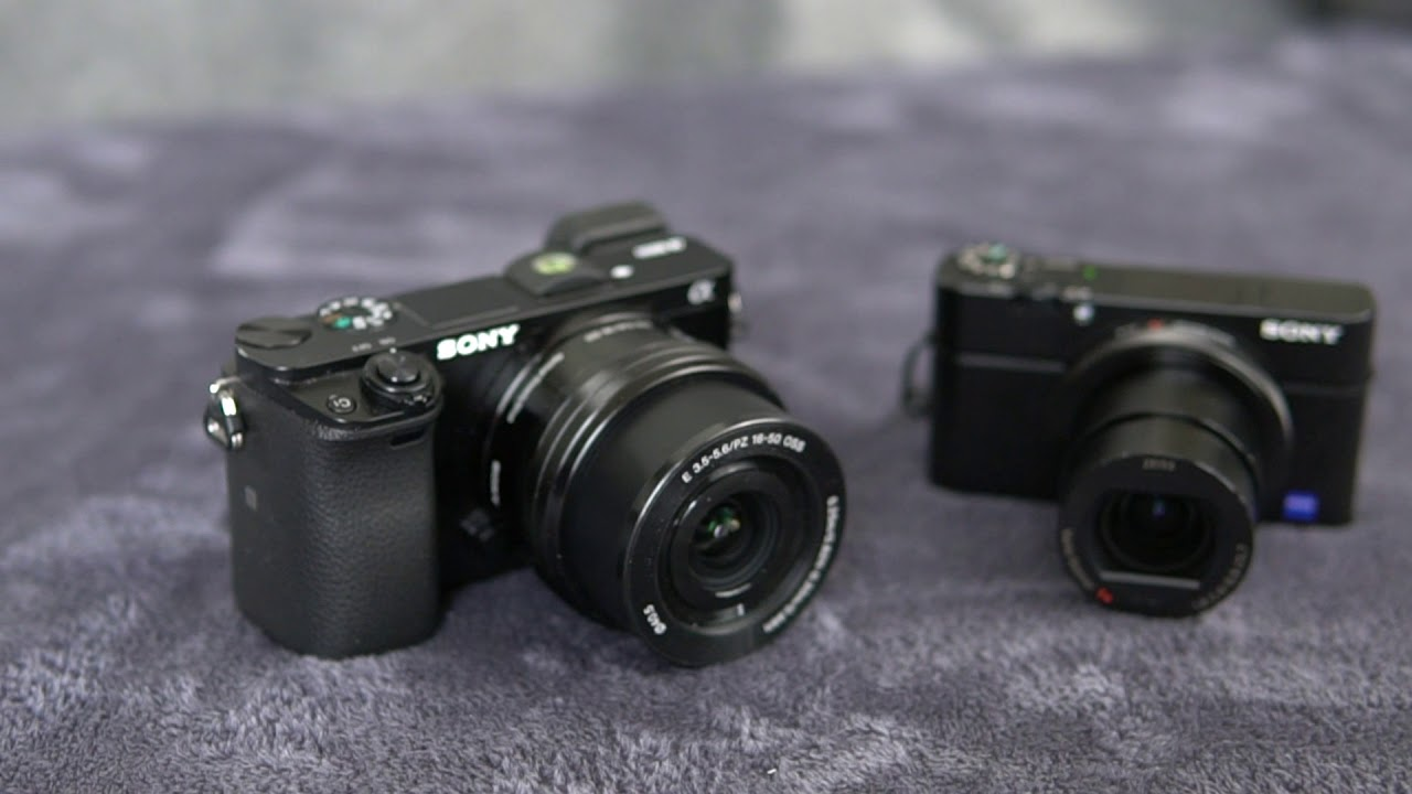 Sony A6500 vs RX100