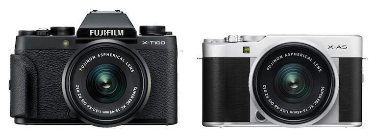 Fujifilm X-T100 vs X-A5 – The 10 Main Differences | GearOpen