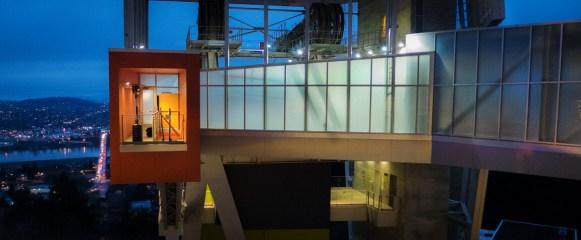 OSHU tram station