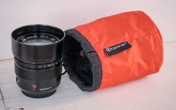 Tamrac orange lens