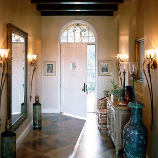 Custom Mirror For Entryway Foyer Table Entry Organizer