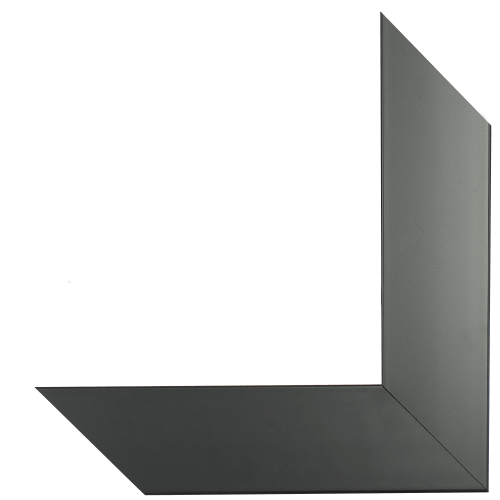 5006 Satin Black Mirror Frame