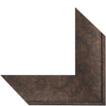 5011 Rubbed Bronze Mirror Frame