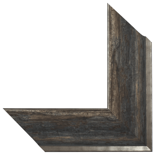 rustic harbor mirror frame