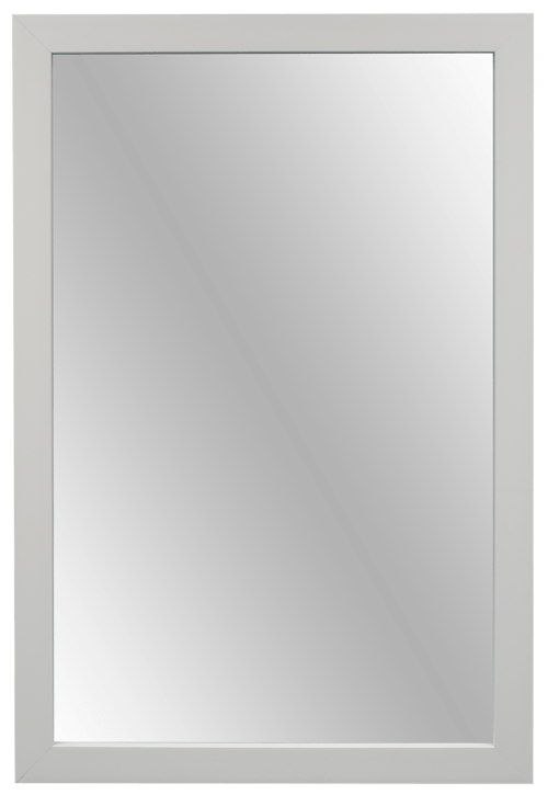 farmhouse diy white mirror frame